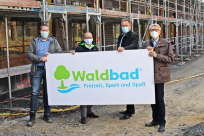 Präsentation Logo Waldbad Stadtwerke Emsdetten