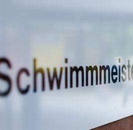 Schwimmeisterschild Waldfreibad Emsdetten