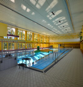 Hallenbad Emsdetten Schwimmerbecken